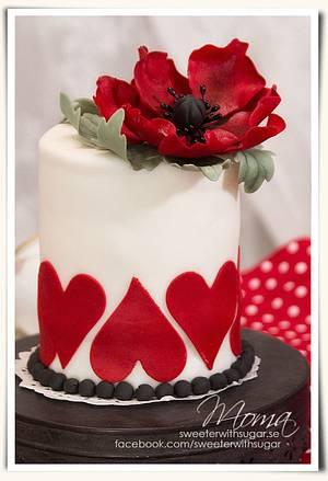Be my Valentine - Cake by Monika