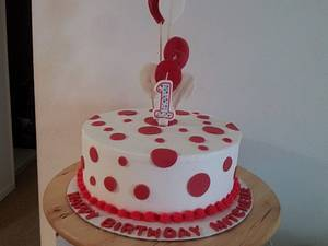 Buttercream birthday cake - Cake by Tica's Designer Cakes