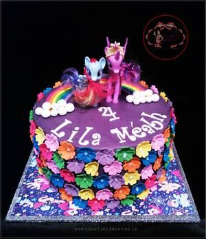 My Little Pony - Cake by Agatha Rogowska ( Cakefield Avenue)