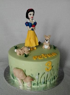 Snow white - Cake by Anka