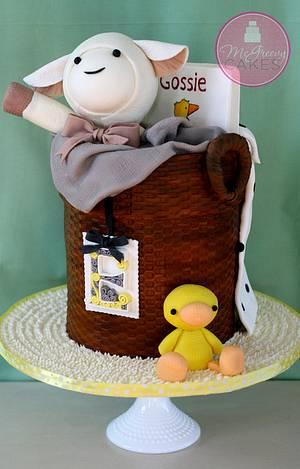 Baby Basket of Toys Cake - Cake by Shawna McGreevy