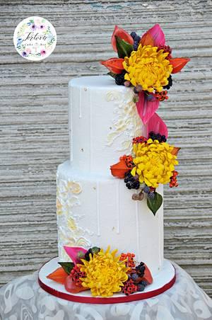 Autumn in love - Cake by Anna