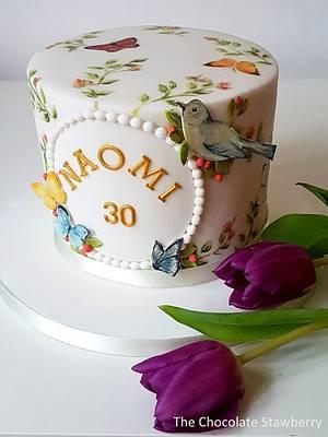 Birthday Butterfly Cake - Cake by Sarah Jones