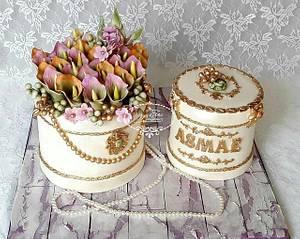 FLOWER BOX BIRTHDAY CAKE - Cake by Fées Maison (AHMADI)