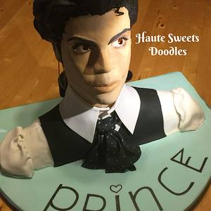 Prince  - Cake by Hiromi Greer