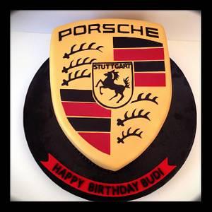 Porsche Logo - Cake by funni
