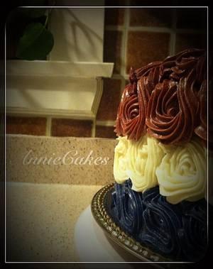 Red, White 'n Blue - Cake by AnnieCakes