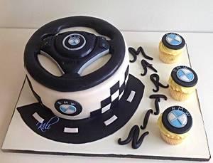 BMW wheel - Cake by kili