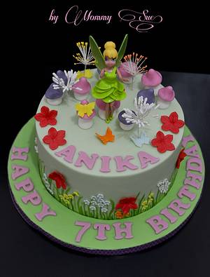 Tinkerbell Cake - Cake by Mommy Sue