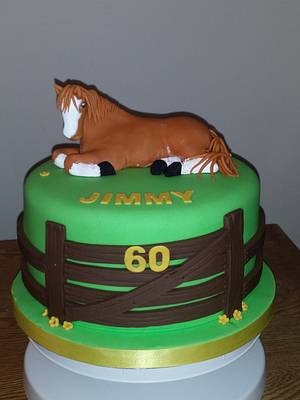 horsing around - Cake by Cakey Barmy