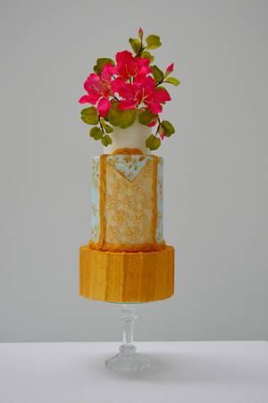 CPC Fashion Collaboration - 1900-1910´s fashion inspired cake - Cake by Catalina Anghel azúcar'arte