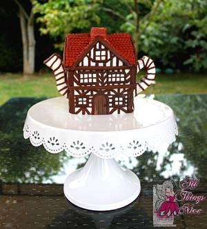 Tudor Teapot for Two (or more!!) All Things Nice collaboration cake - Cake by Artym