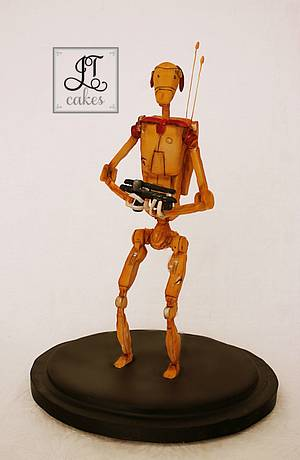 Battle Droid - Bakers strikes back - Cake by JT Cakes