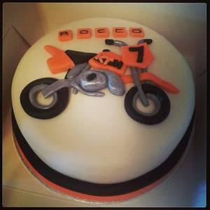 motorbike cake - Cake by ClairebearsCakes
