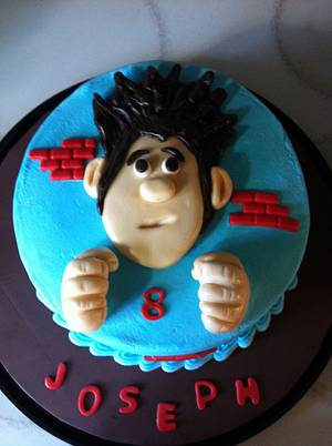 Wreck it Ralph - Cake by PeggyT
