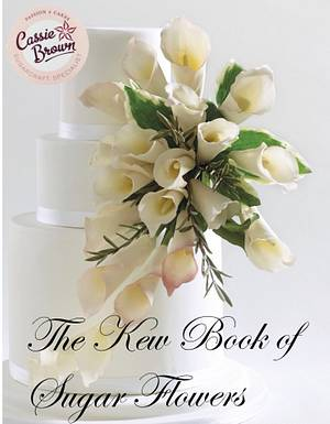 Cala lilys in an arrangement  - Cake by Cassie Brown