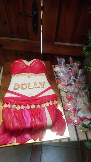 Belly dancer  - Cake by Cakeaya
