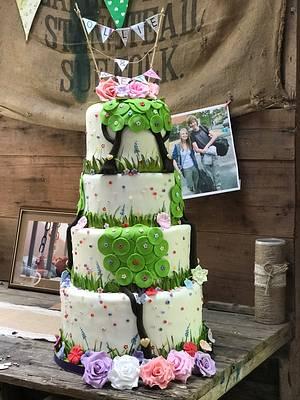 Wedding cake - Cake by Mayasbakingboutique