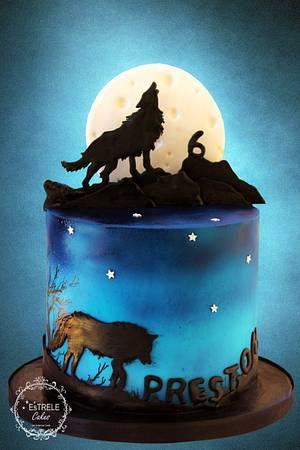 Werewolf - Cake by Estrele Cakes