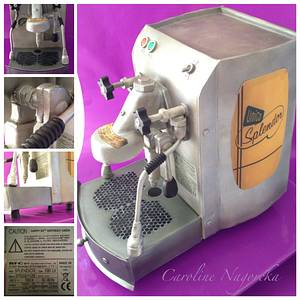 Linda's Coffee Machine - Cake by Caroline Nagorcka