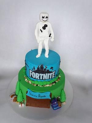 Fortnite cake - Cake by Dijana