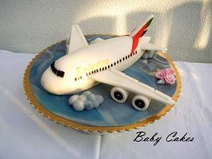 Airbus A380 - Cake by Stániny dorty
