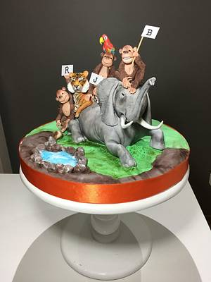 animals cake  - Cake by Tuba Fırat