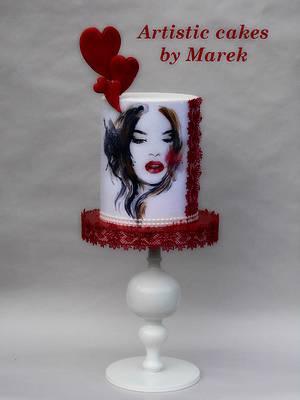 Valentine's day - Cake by Marek