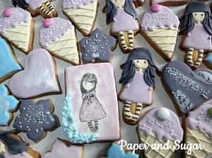 Gorjuss cookies - Cake by Dina - Paper and Sugar