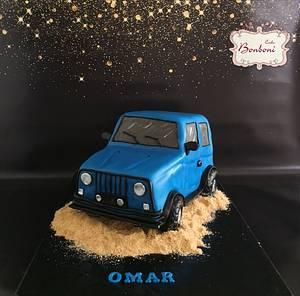 jeep  - Cake by mona ghobara/Bonboni Cake
