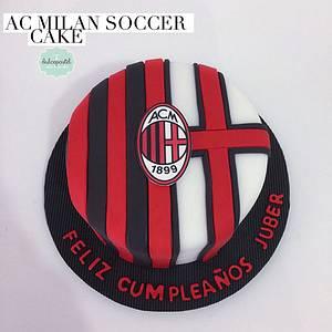 Torta del AC Milan Cake - Cake by Dulcepastel.com