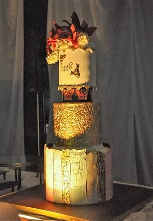 TORTA DE BODA  - Cake by SONIA PORCÚ