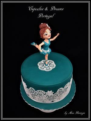 JADE BALLERINA - Cake by Ana Remígio - CUPCAKES & DREAMS Portugal