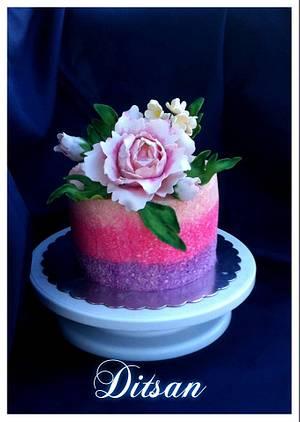 "Cakes ""Thanks"" - Cake by Ditsan"
