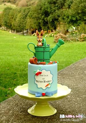 Peter Rabbit mini cake - Cake by Isabella Coppola di Milky Way
