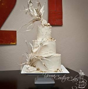 Gilded under the sea - Cake by Jamie Hoffman