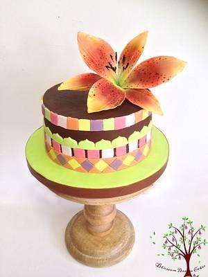 Lily & Tiles - Cake by Blossom Dream Cakes - Angela Morris