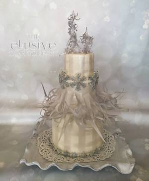 Christmas 2016, Ode to Avalon - Cake by The Elusive Cake Company