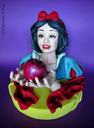Children's Classic Books Sweet Collaboration - Snow White - Cake by Torte decorate di Stefy by Stefania Sanna