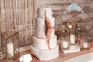 Open geode cake - Cake by Teresa Frye