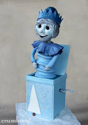 Jack Frost In the Box - Cake by polliwawg