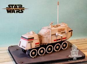 HAVw A6 JUGGERNAUT Turbo Tank for STAR WARS Collab - Cake by Violet - The Violet Cake Shop™