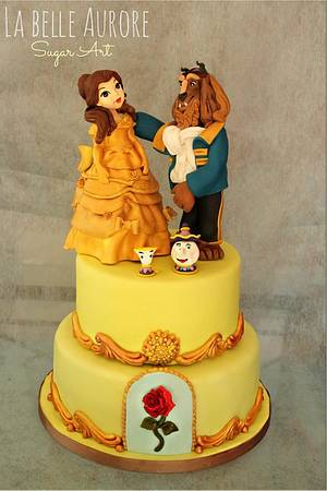 The Beauty and Beast - Cake by La Belle Aurore