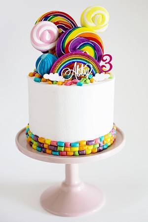 Abby's Rainbow Cake - Cake by alaroch