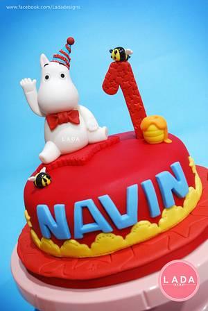 Moomin cake - Cake by Ladadesigns