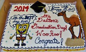 Comical Buttercream graduation cake - Cake by Nancys Fancys Cakes & Catering (Nancy Goolsby)