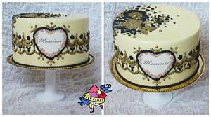 Cake for my mother - Cake by Petra Krátká (Petu Cakes)
