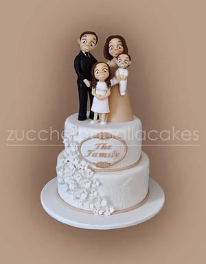 The Family Cake - Cake by Sara Luvarà - Zucchero a Palla Cakes