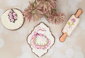 Pinktober Bake for the Cure Cookies 🕊️🌸 🌹 - Cake by Bobbie