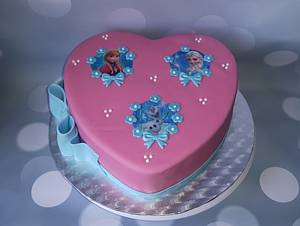 Frozen cake. - Cake by Pluympjescake